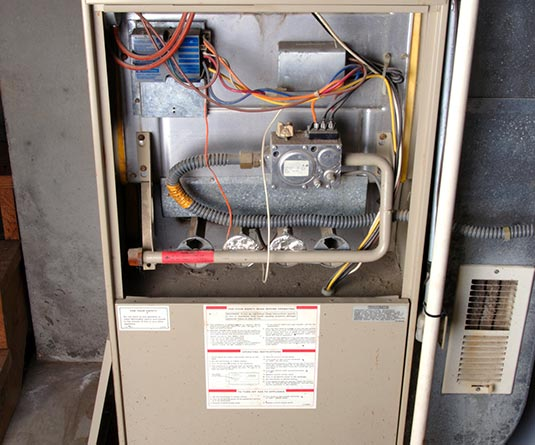 Furnace Maintenance Garage Heating Installation